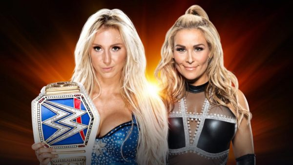 Charlotte Flair Defeats Natalya At WWE Clash Of Champions In Women's LumberjackMatch